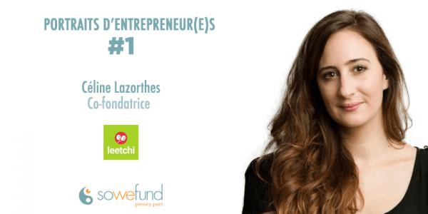 Céline Lazorthes, fondatrice de Leetchi