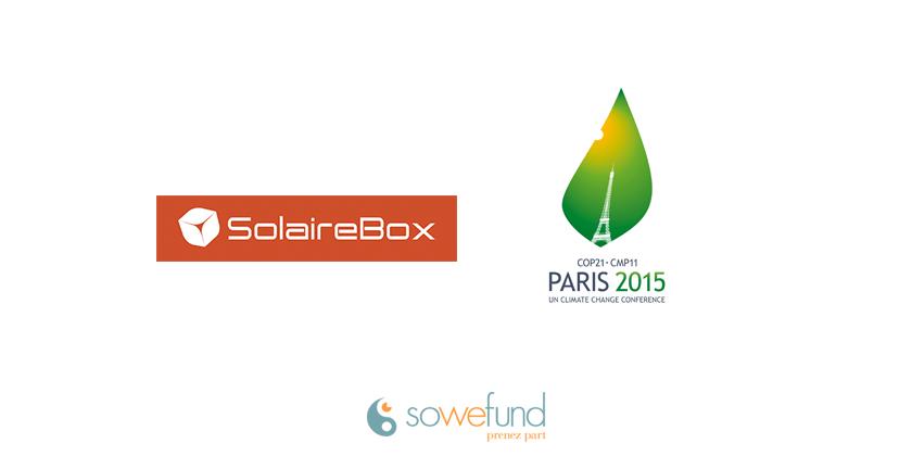 Solaire Box à la COP21