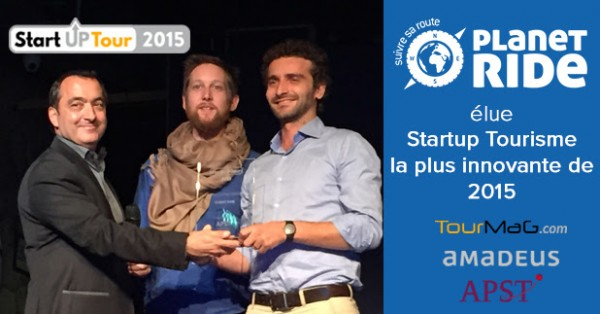 Planet Ride élue startup du e-tourisme la plus innovante de 2015