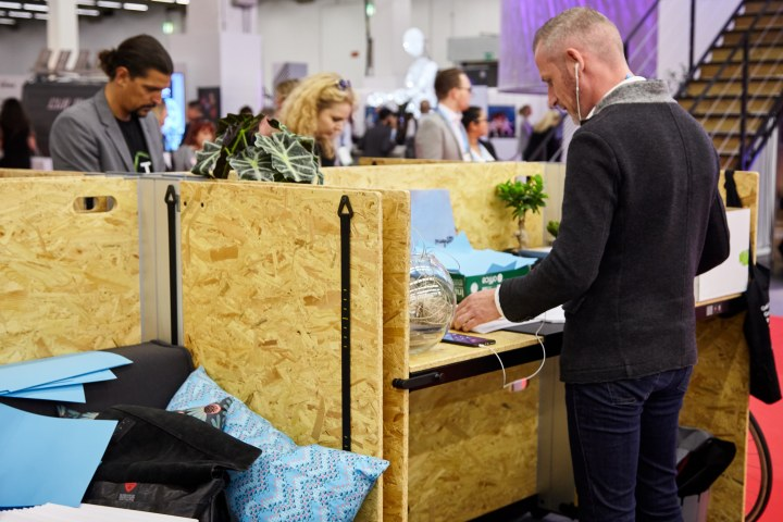 the ZEUS coworking campus was a big hit for IMEX attendees