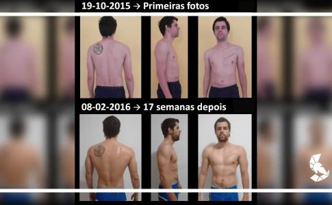 Transformação Corporal Pedro Neto