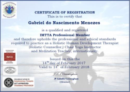 Imta Professional Member - Gabriel Menezes