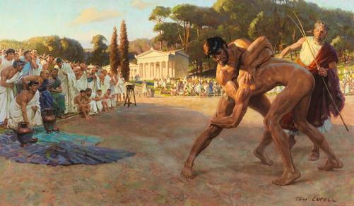 Grécia Antiga Liberação Miofascial Massoterapia Práticas Integrativas Complementares