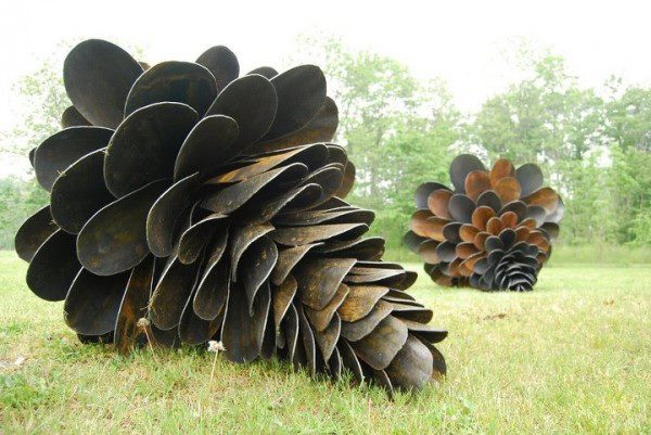 Giant Pinecones