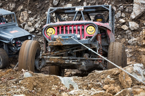 Winching, with Throttle -- 2013 Widia Rausch Creek Qualifier