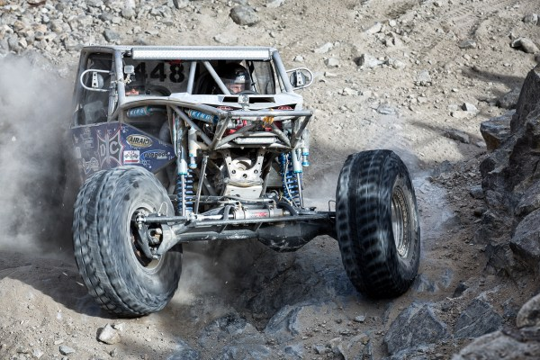 Finding the Right Line -- 2014 King of the Hammers