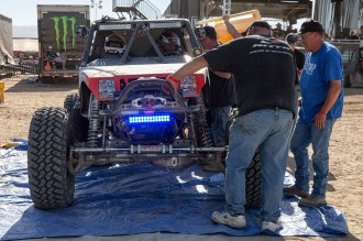 Pit Stop -- 2015 King of the Hammers