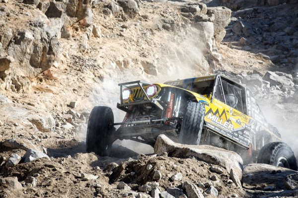 Throttle Control -- 2015 King of the Hammers