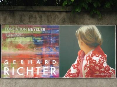 Gerhard Richter in der Foundation Beyeler