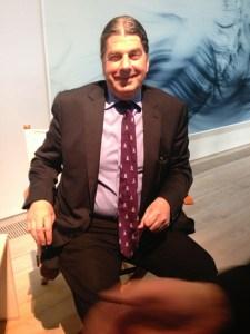 John Armleder beim Rolls Royce Artist Talk