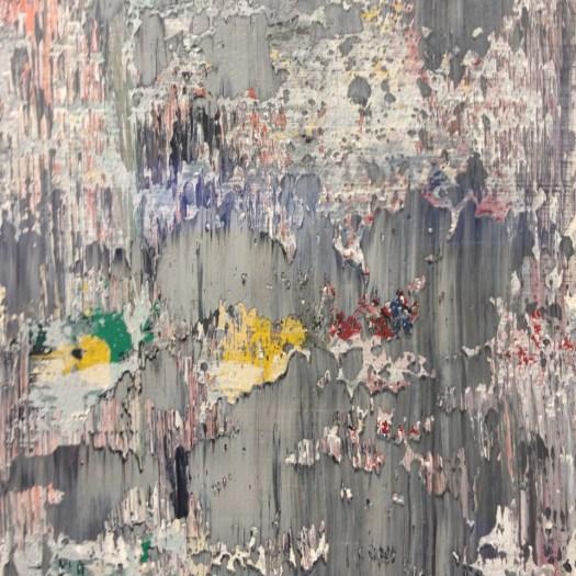 Gerhard Richter Detail aus '06. Nov. 06' - 128 x 119 cm