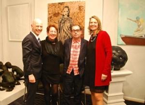 von rechts: Stefanie Busold, Fernando de Brito, Barbara Zenner, Rene S. Spiegelberger