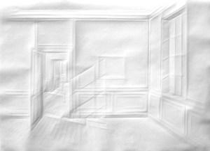 Museum Wolfsburg SimonSchubert ohne Titel (Licht in Raum), 2014, 70cm x 100cm