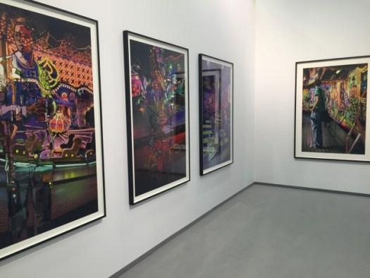 Marc Lüders' großformatige Photopicturen liegen  bei Levy zwischen 8 und 14' EUR
