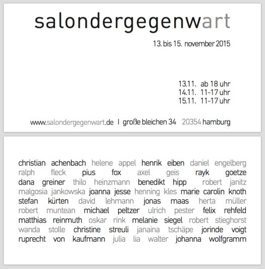 SalonDerGegenwart