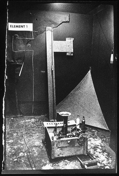 From the Action by Joseph Beuys 'Manresa' 1966 printed 1997 Artists Ute Klophaus Germany 10 Feb 1940 - 06 Dec 2010