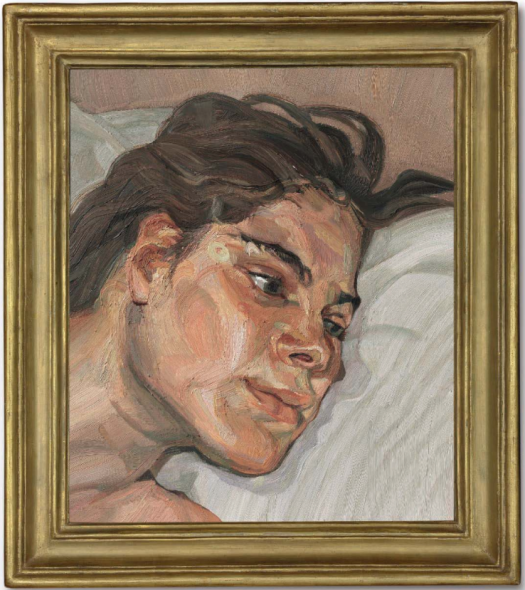 LUCIAN FREUD (1922-2011) Head of Esther oil on canvas 14o x 12oin. (36 x 31cm.) Painted in 1982-1983 £2,500,000-3,500,000 $3,600,000-5,000,000 €3,300,000-4,600,000