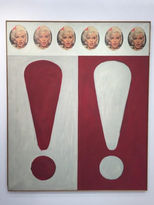 Das einzige Beispiel bei dem es auch bei Gaul mal etwas hochpreisiger wird. Diese mit 'Memento Mori' titulierte in 180 x 150 cm gehaltene großformatige Arbeit aus dem Todesjahr von Marilyn Monroe (1962) wird mit 80 TEUR angeboten