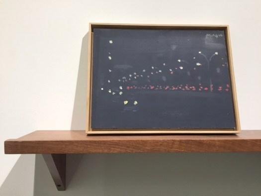Pop-Art Altmeister Alex Katz mit einer wunderbaren 'City at Night' Szene aus 2000 im A4-Querformat für 65 TEUR. Diverse aktuellere Trees-Großformate des Amerikaners konnten hingegen qualitativ kaum begeistern.