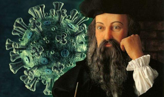 nostradamus prediction coronavirus