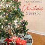 Handmade Holiday How To Diy Christmas Tree Skirt Spoonflower Blog