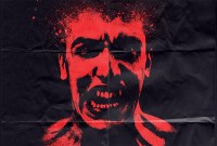 halloween movie poster screaming face