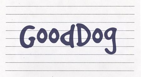 GoodDog font