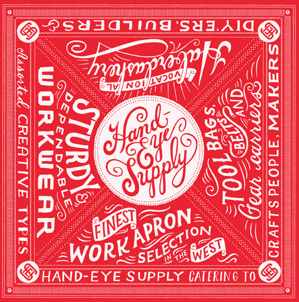 Hand-Eye Supple Bandana by Mary Kate McDevitt