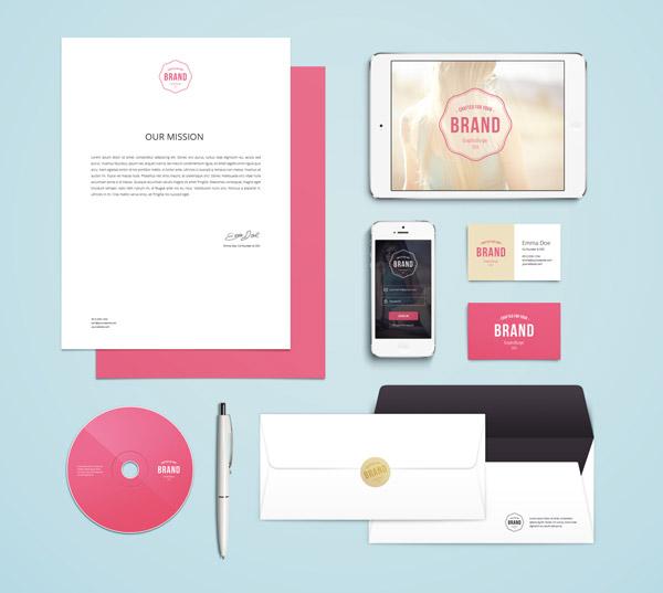 Branding / Identity Mockup Vol 4