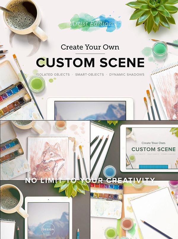 Custom Scene preview