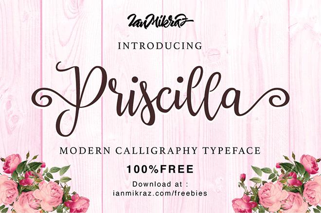 Priscilla Script