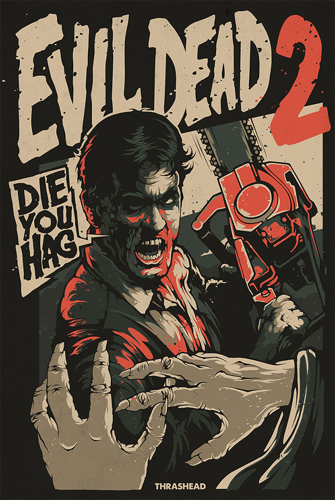 Evil Dead 2 by Thrashed