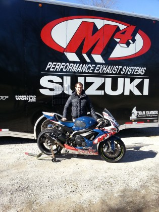 Valentin Debise M4- Sportbiketrackgear.com