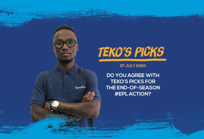 Teko Modise's Picks