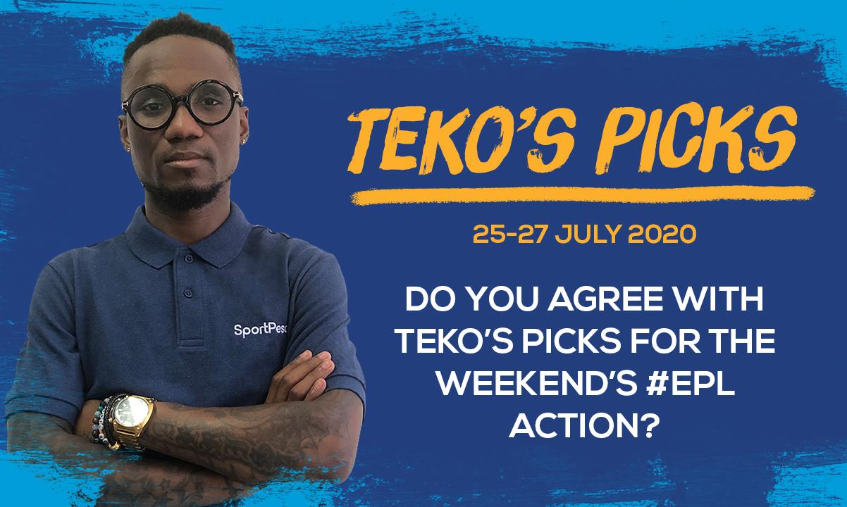 Teko's Picks - 25-27 July