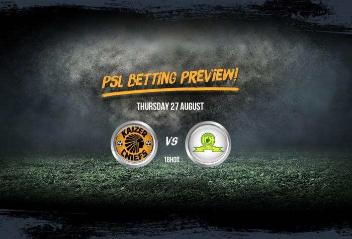 PSL - Kaizer Chiefs v Sundowns
