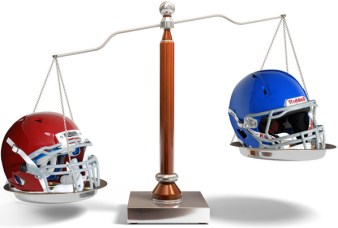 Who much do football helmets weigh