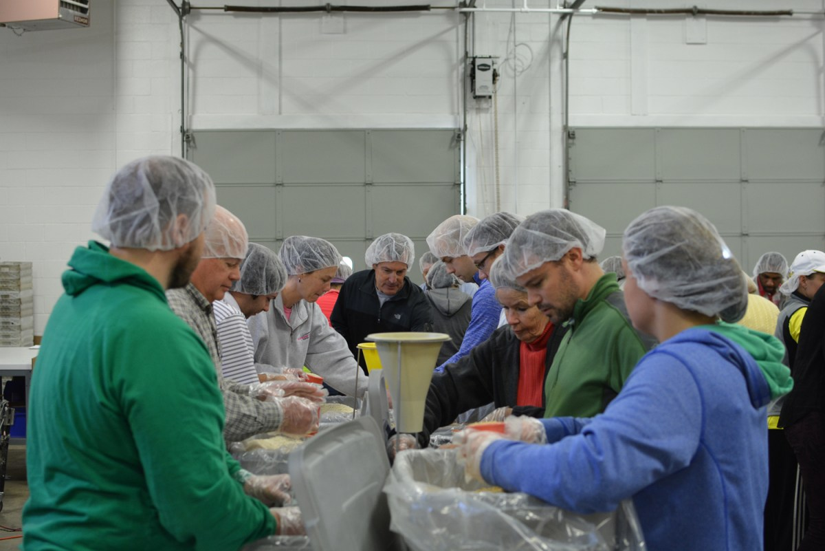 10,000 Meals at Sports Unlimited