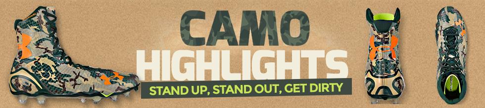 Highlight: Under Armour CAMO Football Cleats