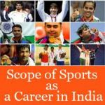 Scope of Sports as a Career in India