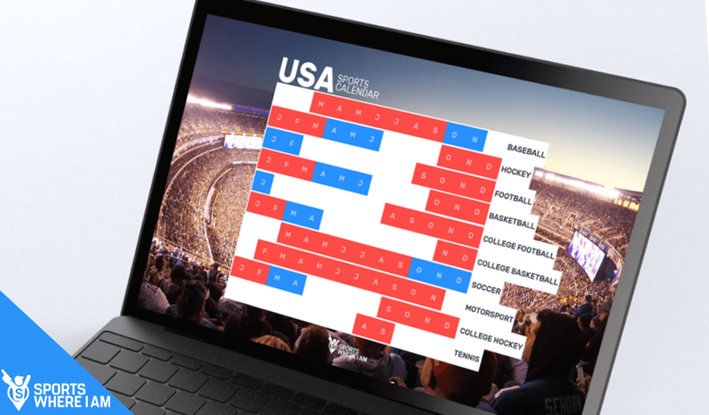 World sports calendars for travellers and the sports-mad