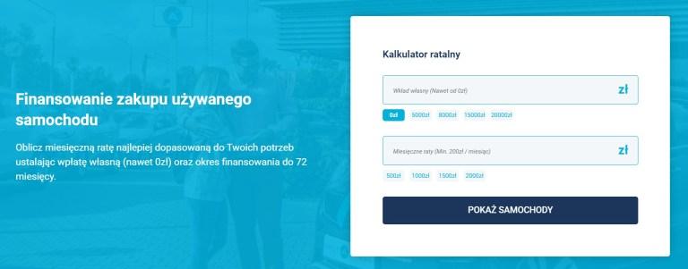 Spotawheel oferuje dogodne finansowanie: kredyt lub leasing