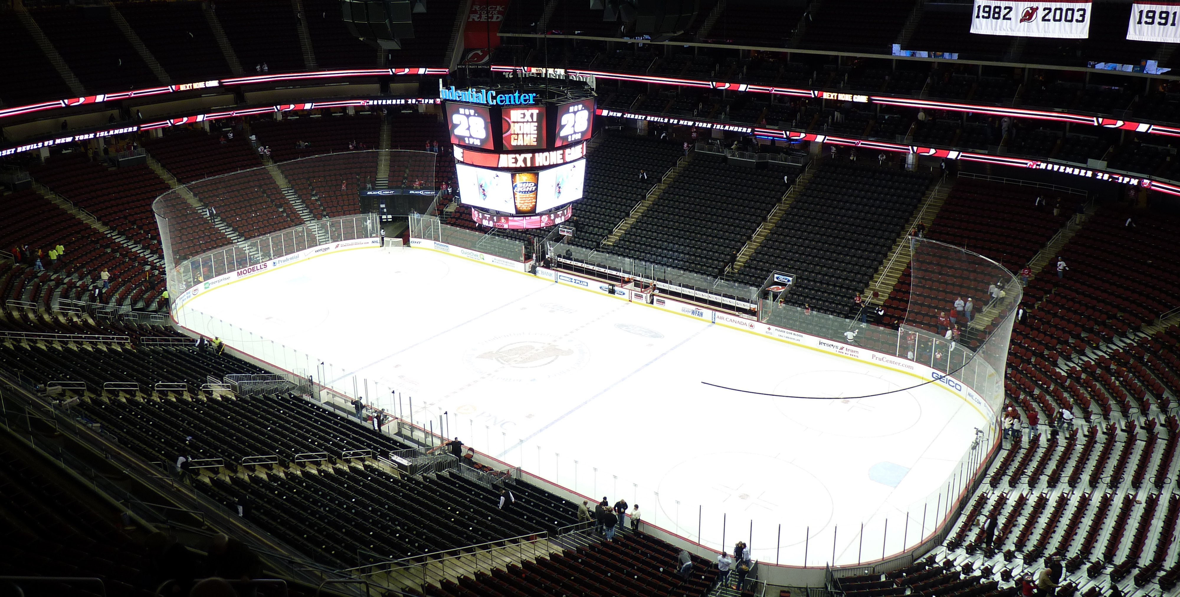 Prudential Center Detailed Seating Chart