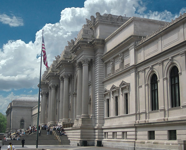 """Metropolitan Museum of Art entrance NYC"" by Arad - Own work. Licensed under CC BY-SA 3.0 via Wikimedia Commons - http://commons.wikimedia.org/wiki/File:Metropolitan_Museum_of_Art_entrance_NYC.JPG#/media/File:Metropolitan_Museum_of_Art_entrance_NYC.JPG"