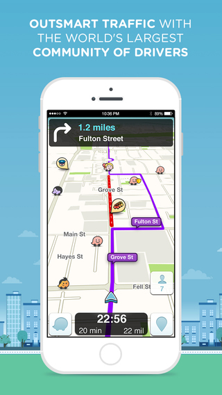 15 Best Apps for Commuters Who Drive - Waze