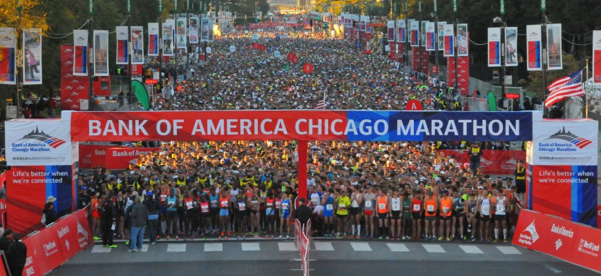 Chicago Marathon Spectators' Guide