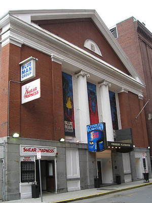 Charles Playhouse parking