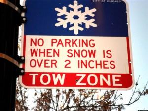 Chicago Winter Overnight Parking Ban