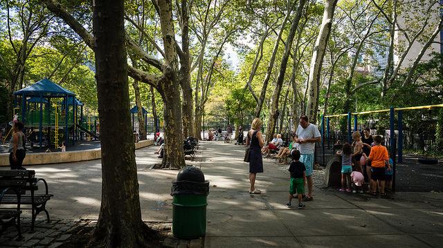 St. Vartan Park in Murray Hill