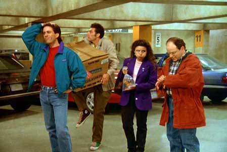 "Seinfeld ""The Parking Garage"""